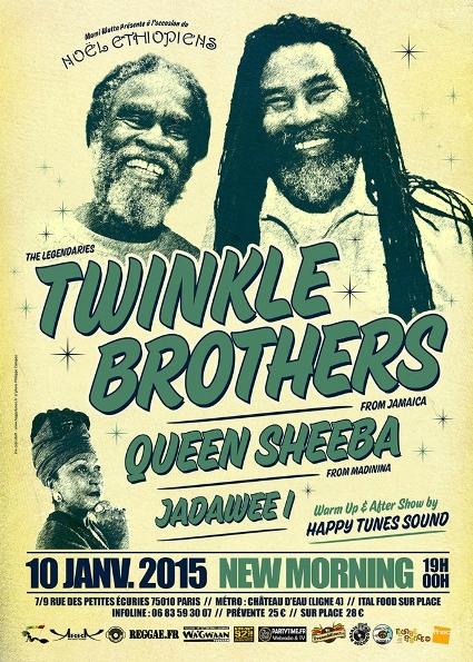 [75] - TWINKLE BROTHERS + QUEEN SHEEBA + JADAWEE I