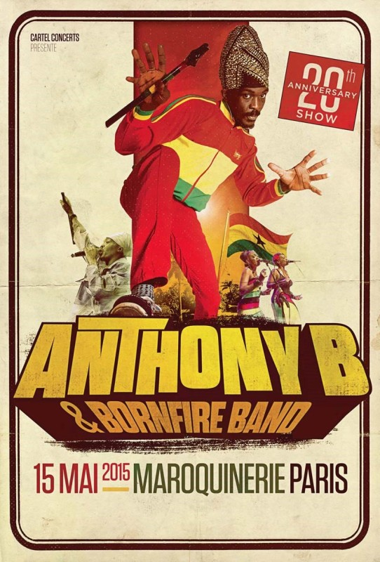 [75] - ANTHONY B & BORNFIRE BAND - 20TH ANNIVERSARY SHOW