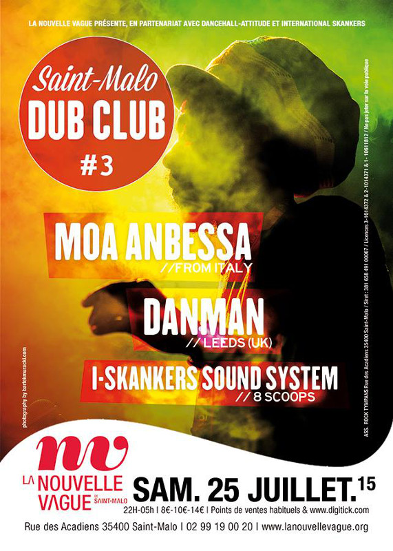 [35] - SAINT MALO DUB CLUB #3 - MOA ANBESSA + DANMAN + I-SKANKERS
