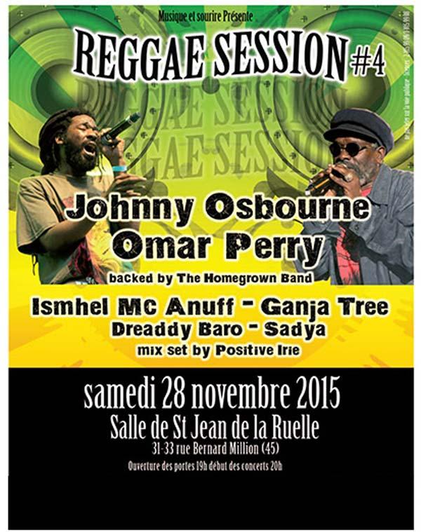 [45] - JOHNNY OSBOURNE + OMAR PERRY + ISHMEL MCANUF + GANJA TREE + DREADDY BARO & SADYA