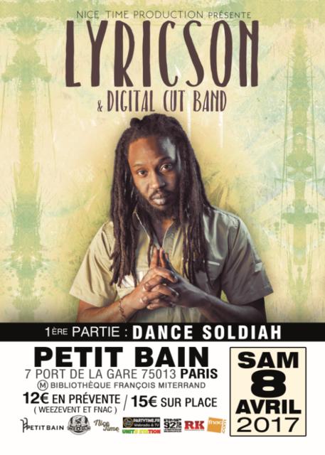 [75] - LYRICSON & DIGITAL CUT BAND & DANCE SOLDIAH