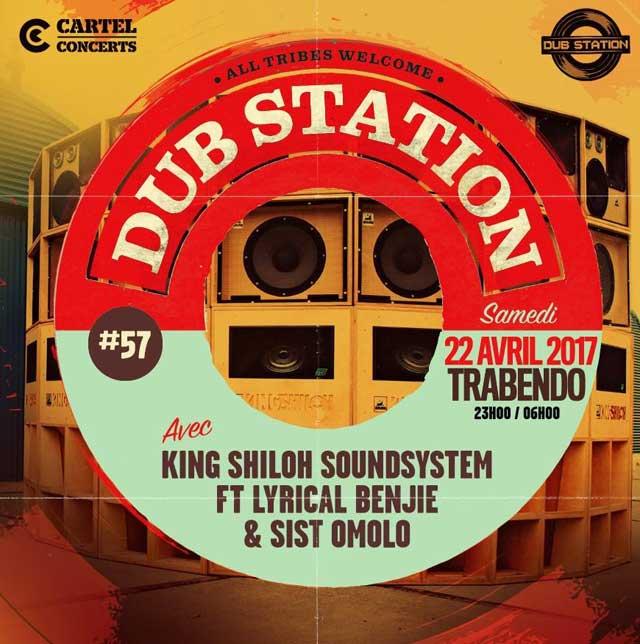 [75] - DUB STATION #57 - KING SHILOH SOUNDSYSTEM feat. LYRICAL BENJIE & SIST OMOLO